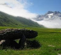 Parque natural valles occidentales: Dolmen agua tuerta