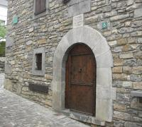 Patrimonio cultural parque natural valles occidentales: Fachada casa ansotana