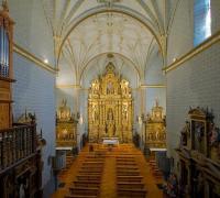 Patrimonio cultural parque natural valles occidentales: Interior iglesia Ansó