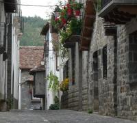 Patrimonio cultural parque natural valles occidentales: Casas ansotanas