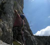 Parque natural valles occidentales: Escalada
